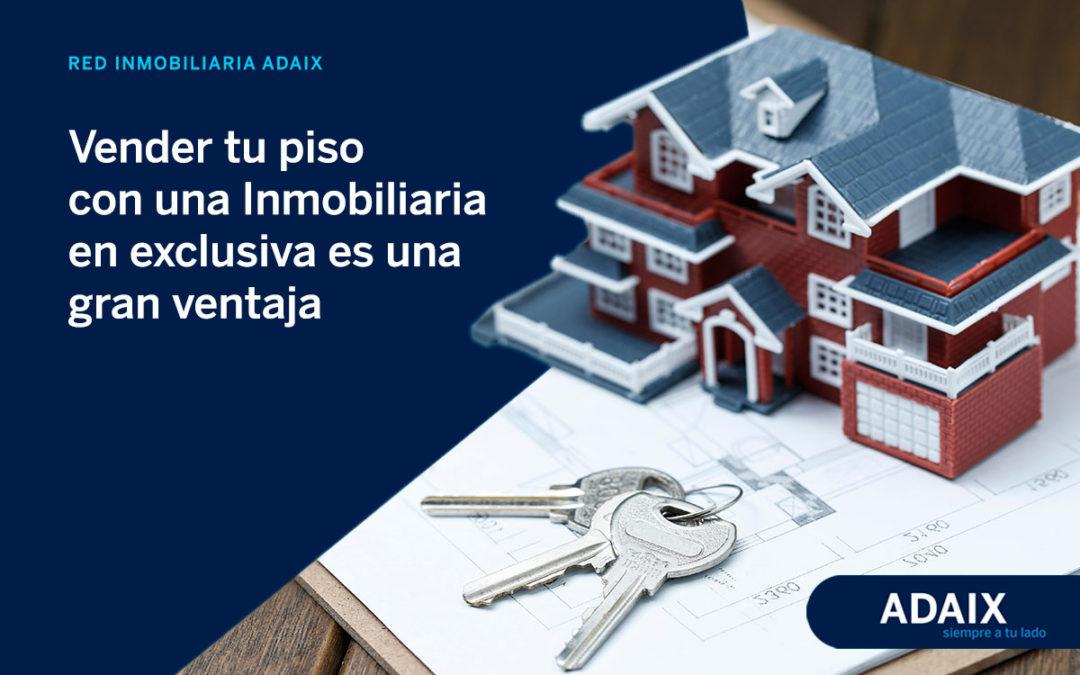 Vender tu piso con una Inmobiliaria en exclusiva es una gran ventaja