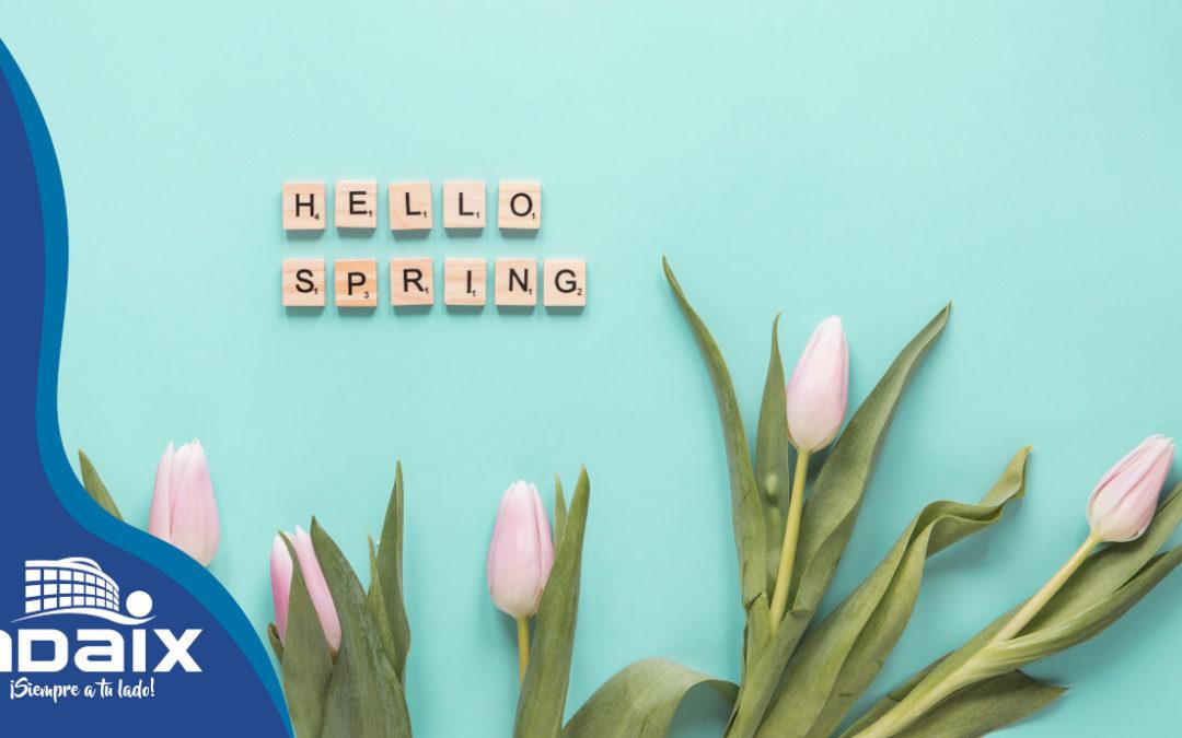 Tu casa en primavera