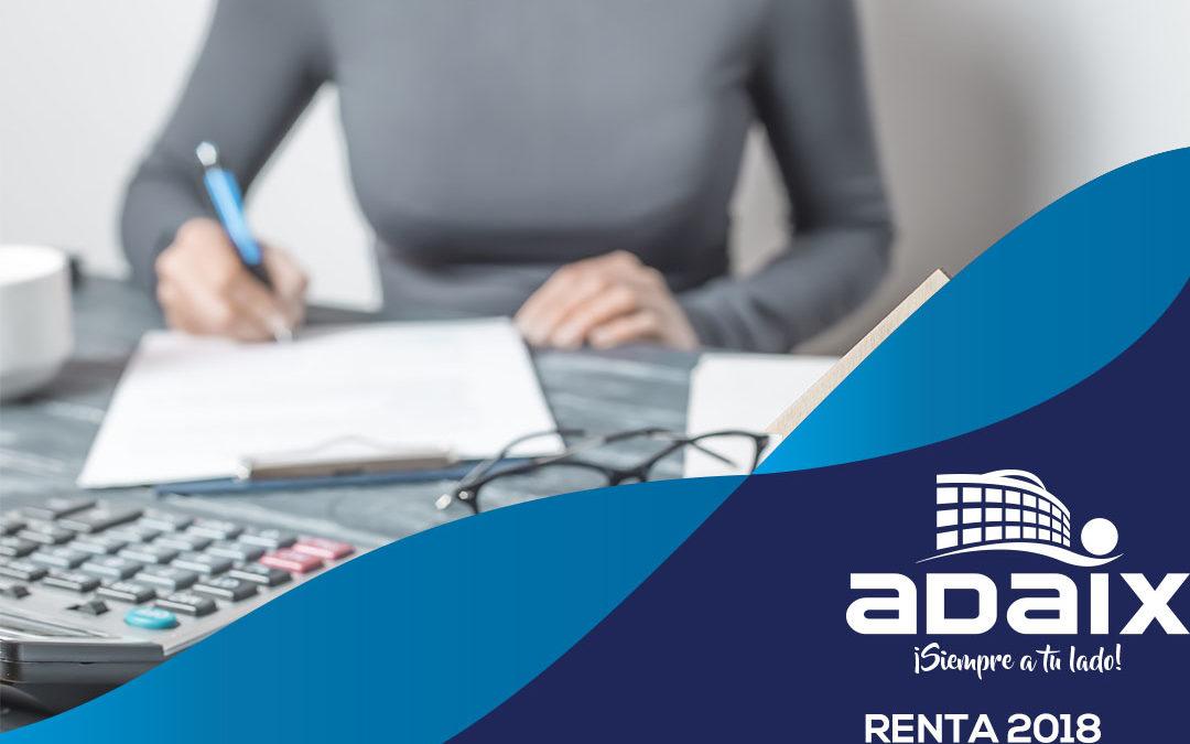 ¿Cómo declarar tu alquiler en la Renta 2018?
