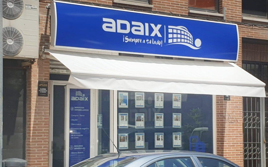 Nueva agencia inmobiliaria Adaix en Fuenlabrada, (Madrid)